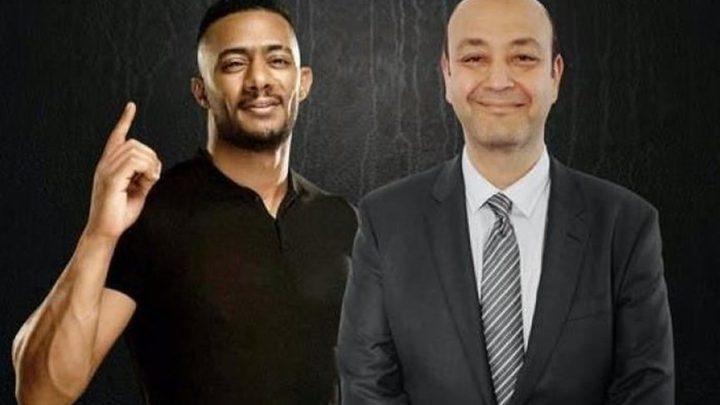 عمرو أديب يهاجم محمد رمضان بعد وفاة الطيار أبو اليسر