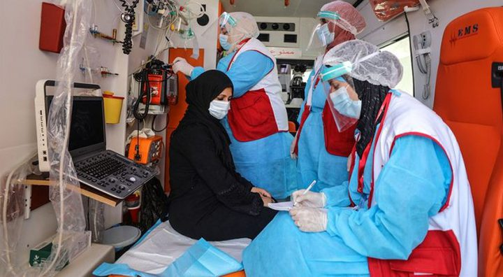 غزة: 9 وفيات و305 إصابات جديدة بكورونا