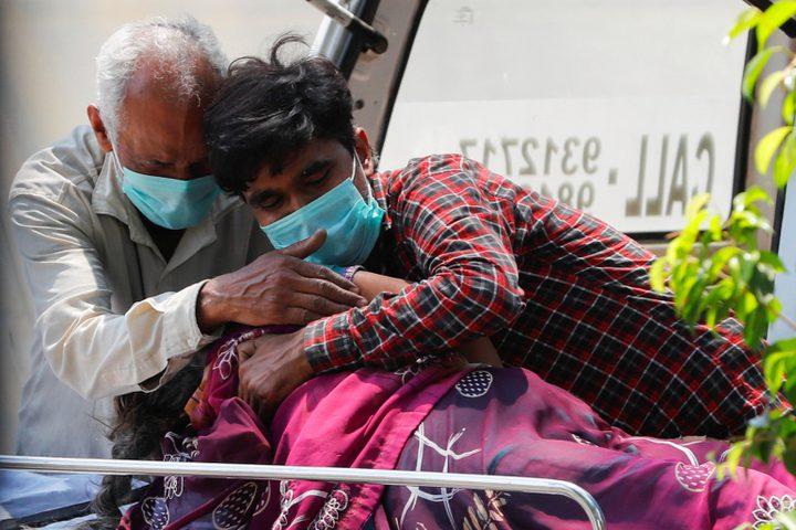 حصيلة يومية قياسية للإصابات بكورونا في الهند