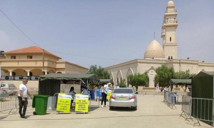 انخفاض اعداد الاصابات الجديدة بكورونا في البلدات العربية