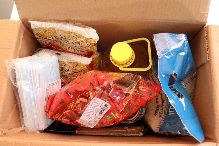 بيت لحم تتسلم طرودا غذائية مقدمة من الرئيس للأسر المحتاجة