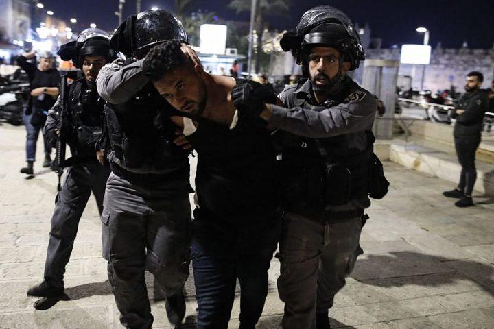 الاحتلال يعتقلمقدسيين من منطقة باب العامود