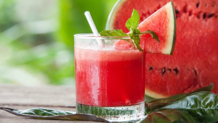 طريقة تحضير عصير البطيخ