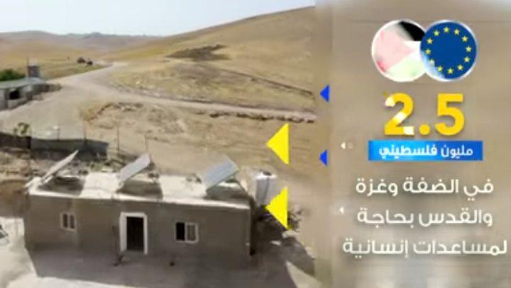 جولة أوروبية 15 - مشروع حماية الفلسطينيين من التهجير القسري