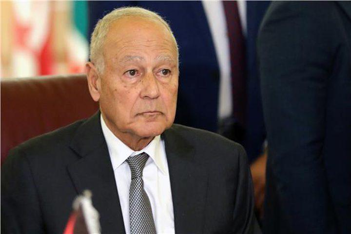 مباحثات بين أبو الغيط ومبعوث الأمم المتحدة للسلام