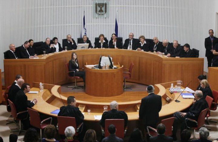 العليا الإسرائيلية ترفض التماسا ضد الاعتقال الإداري بحق اسير