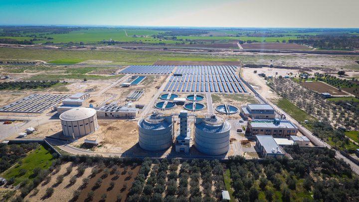 تشغيل محطة المعالجة المركزية لمحافظتي غزة والوسطى