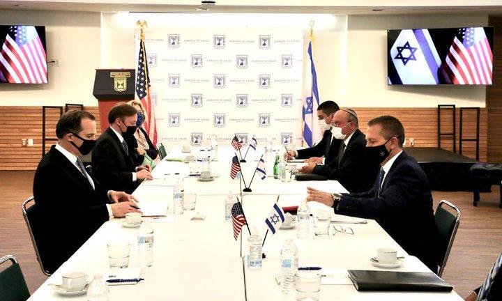 تشكيل طاقم أمريكي إسرائيلي مشترك لمواجهة التهديد الإيراني