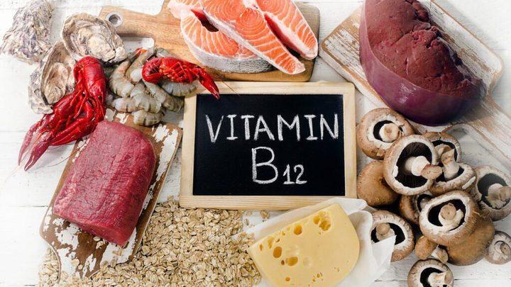 مواد غذائية غنية بفيتامين B12