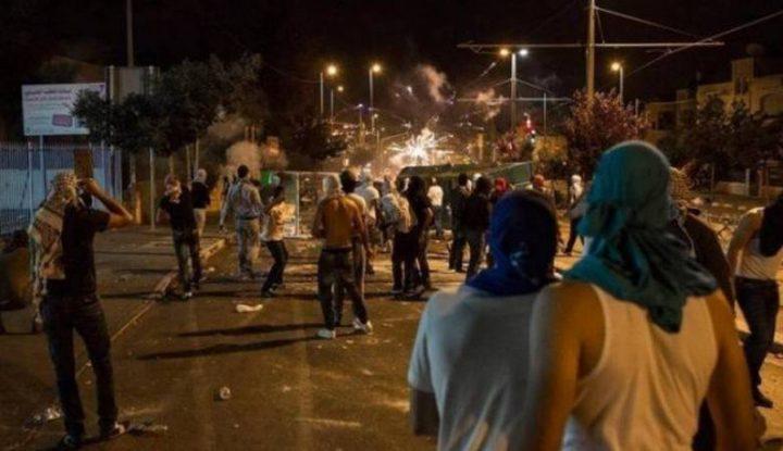 مواجهات مع الاحتلال على مدخل بيت لحم الشمالي