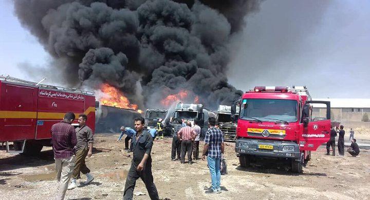 انفجار في مصنع كيماويات بإيران
