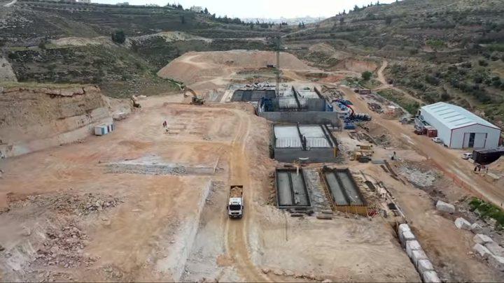 جولة أوروبية 18 - محطة معالجة مياه الصرف الصحي في الخليل
