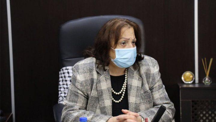 وزيرة الصحة تحذر من وصول الطفرتين البرازيلية والهندية