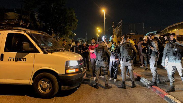 قوات الاحتلال تغلق مداخل حي الشيخ جراح بالقدس المحتلة