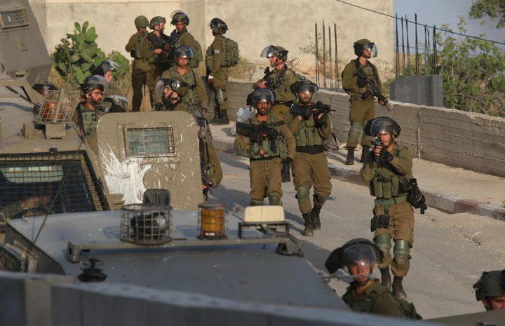 الاحتلال ينفذ حملة عسكرية واسعة في عقربا وترمسعيا