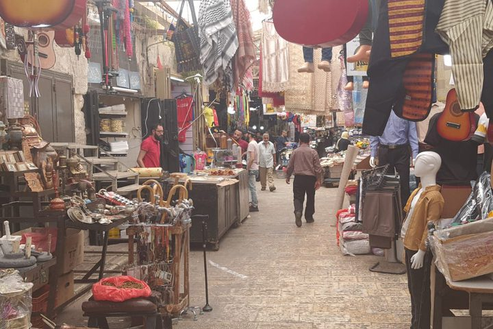 أسواق مدينة نابلس قبيل عيد الفطر
