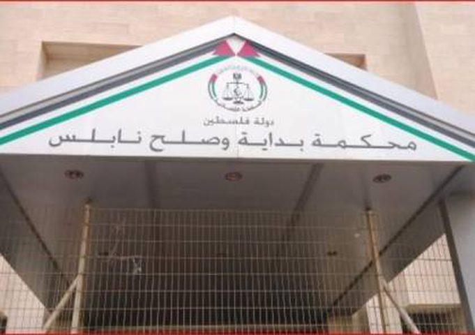 محكمة بداية نابلس تصدر عددا من الأحكام القضائية بحق ثلاثة متهمين