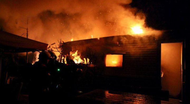 وفاة 8 فلسطينيين بحريق اندلع في مقر اقامتهم في السعودية
