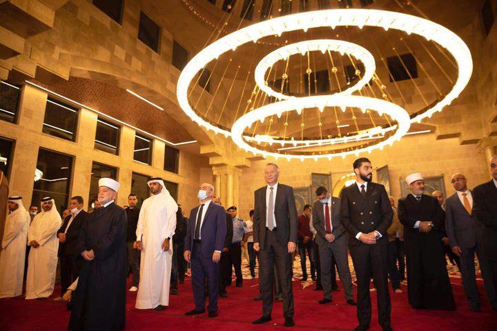 شخصيات رفيعة المستوى تشارك في افتتاح جامع قطر بمدينة روابي
