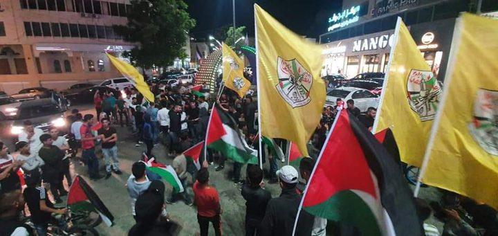 مسيرة جماهيرية في الخليل نصرة للقدس