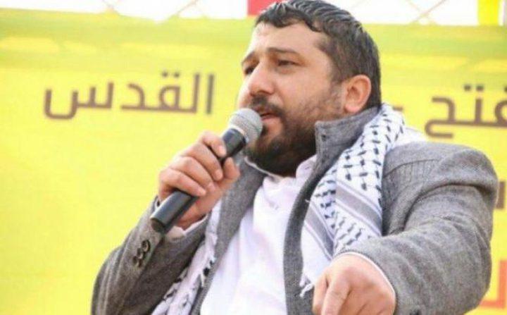 """محكمة الاحتلال تمدد اعتقال أمين سر """"فتح"""" في القدس"""
