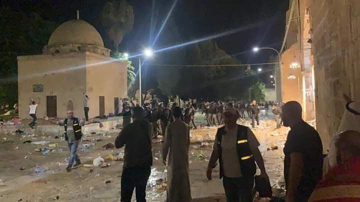 المملكة الأردنية تدين اقتحام الاحتلال للمسجد الأقصى المبارك