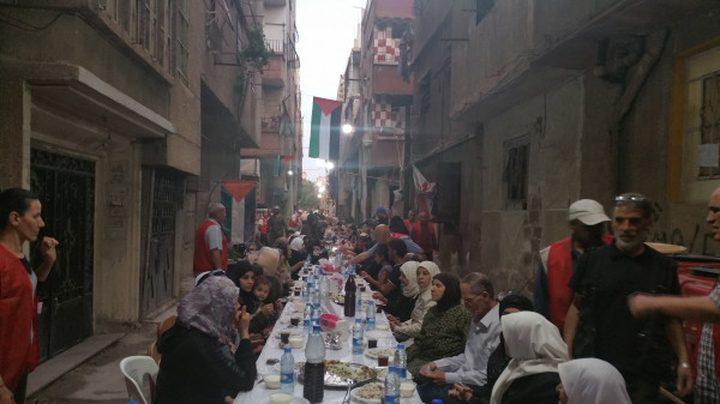 منظمة التحرير تقيم مأدبة إفطار للأطفال في معهد فلسطين