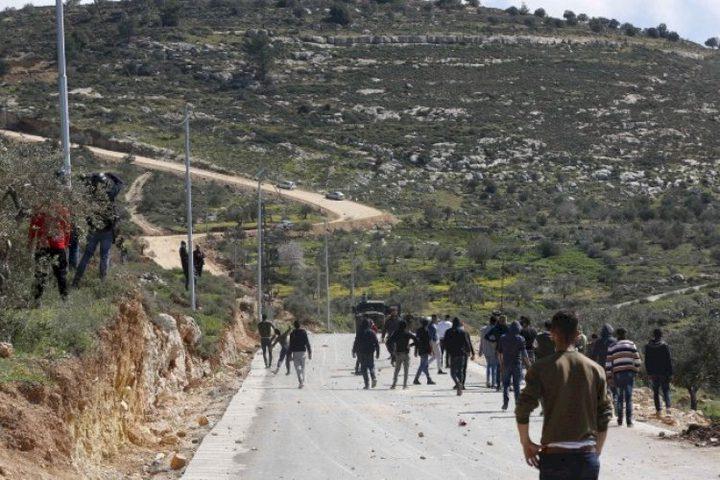 إصابات إثر قمع الاحتلال فعاليات سلمية في بيتا وبيت دجن