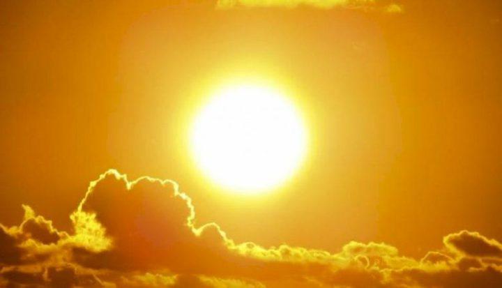 الطقس:أجواء حارة مع ارتفاع طفيف على درجات الحرارة