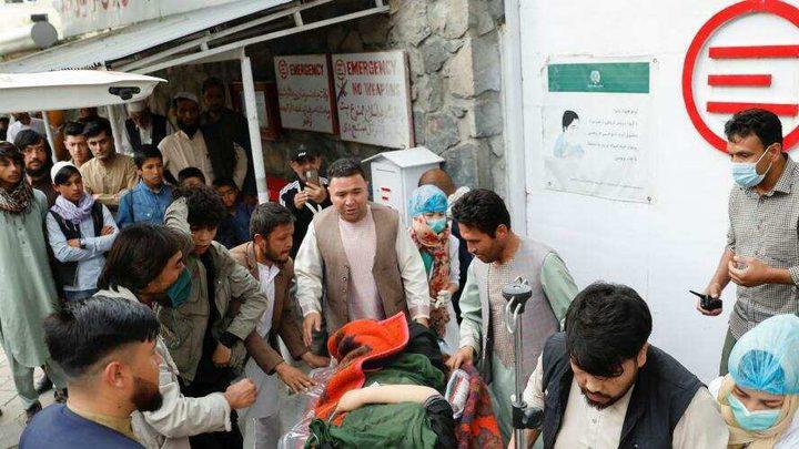مصرع أكثر من 50 شخصاً في انفجارات قرب مدرسة في كابول