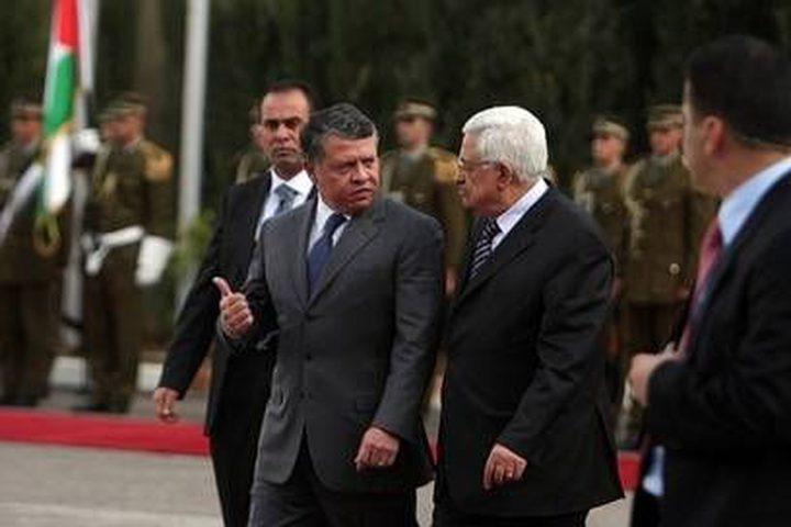 الرئيس يبحث مع العاهل الأردني الأوضاع الخطيرة في مدينة القدس
