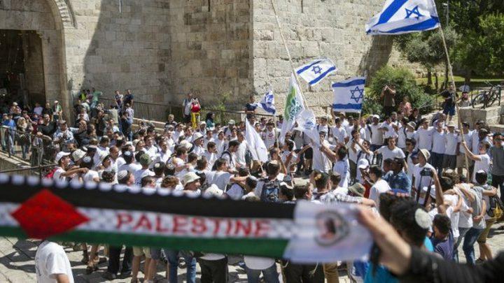 تغطية مباشرة لأحداث القدس تزامنا مع مسيرة المستوطنين الاستفزازية