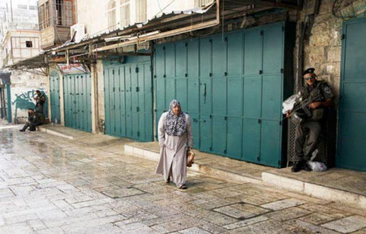 الاحتلال يغلق شوارع القدس القديمة لتأمين مسيرات المستوطنين