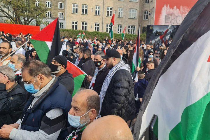 الاحتجاج الأوروبي على اعتداءات الاحتلال والمستوطنين في القدس