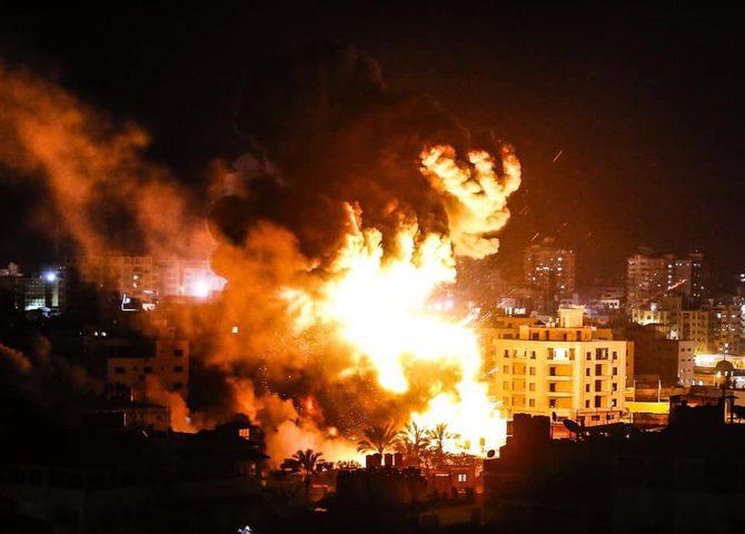 """الاعلام العبري: صاروخ ضرب خط انابيب النفط بين """"ايلات"""" وعسقلان"""