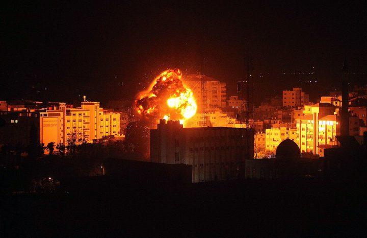اضرارا بممتلكات المواطن جراء قصف الاحتلال مواقع عدة بغزة
