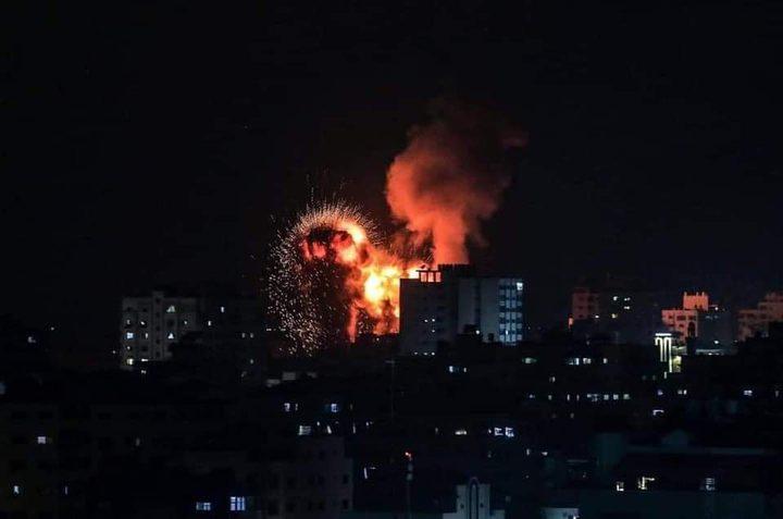 21 شهيدا بينهم تسعة أطفال في عداون الاحتلال على قطاع غزة