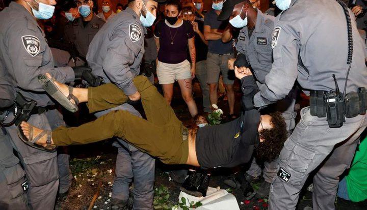 إصابات خلال اعتداء لشرطة الاحتلال على مواطنين بالداخل المحتل