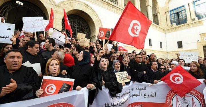 المنظمات الوطنية في تونس تؤكد دعمها للنضال الفلسطيني