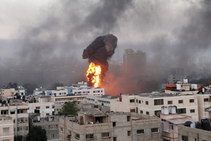 طائرات الاحتلال تشن أكثر من 40 غارة جديدة على قطاع غزة