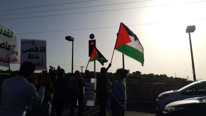 الداخل المحتل يخرج في مسيرات حاشدة نصرة للقدس وغزة