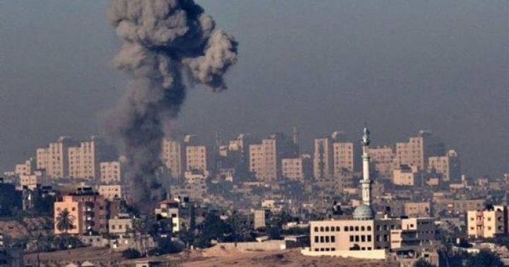 الاحتلال يطلق غازات سامة صوب أبراج الشيخ زايد ببيت لاهيا