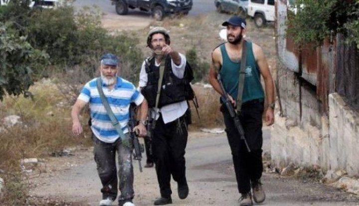 مستوطنون يعتدون على مركبات المواطنين شمال غرب رام الله