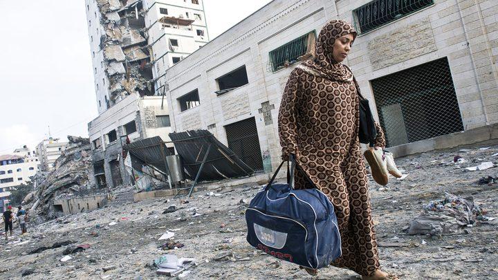نزوح قسري لعدد كبير من العائلات شمال بيت لاهيا وبيت حانون