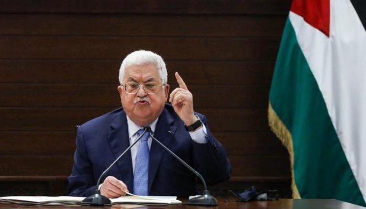 الرئيس يهاتف أحمد حلس للاطمئنان على أبناء شعبنا في قطاع غزة