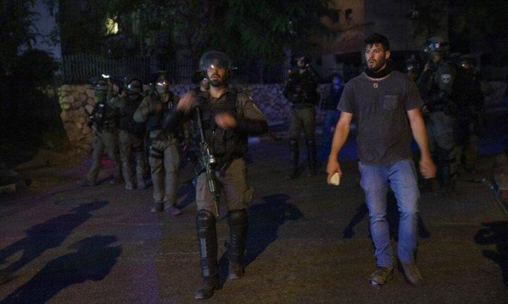 الاحتلال يشن حملة اعتقالات واسعة داخل اراضي الـ48
