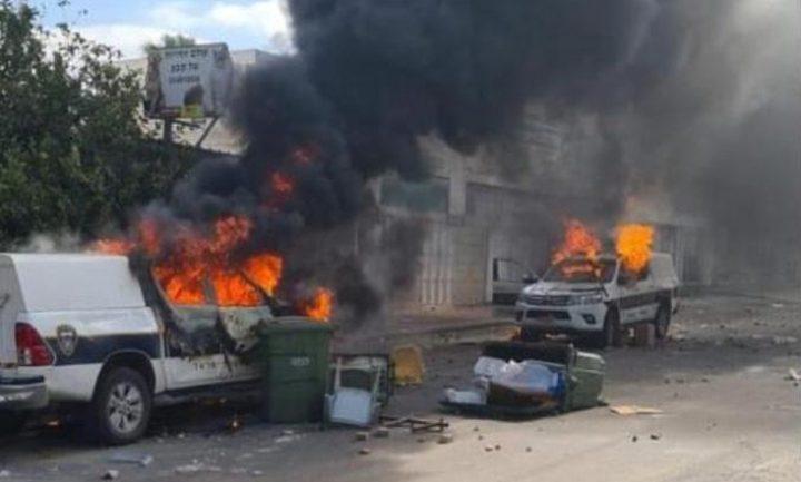 مواجهات بين الشبان وشرطة الاحتلال في كفر قاسم