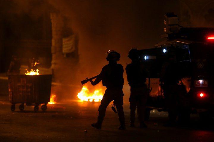 نتنياهو يحرض على استخدام القوة المفرطة ضد المتظاهرين في اللد
