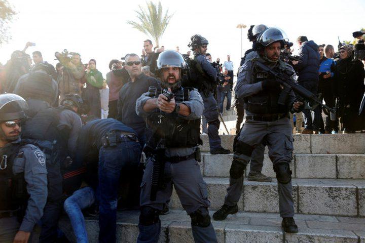 إصابات خلال مواجهات مع الاحتلال في القدس