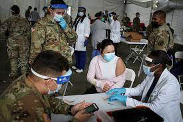 الجيش الأمريكي يعلن أنه قدم لقاح كورونا لأكثر من مليون شخص